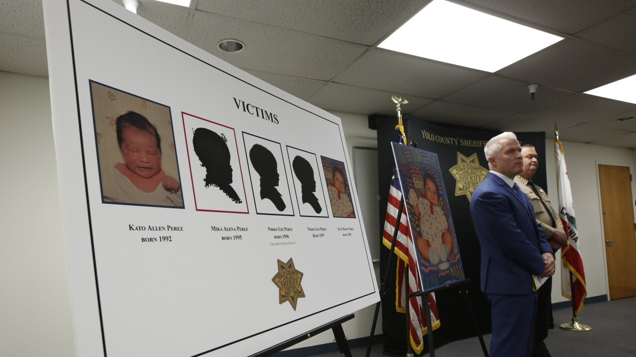 Father arrested in killings of his 5 infant children in California cold case