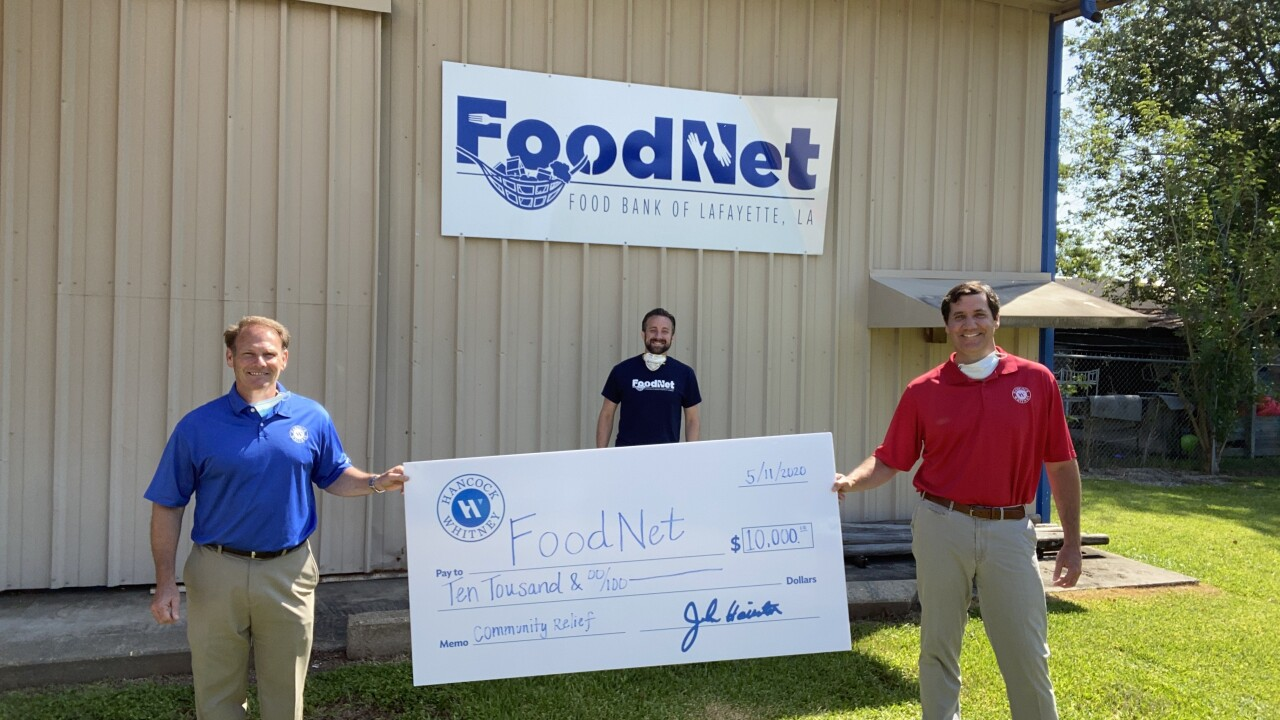 Lafayette Food Net - Kevin Latiolais (HW)_ Ben Broussard (Chief Communication Officer, Catholic Charities of Acadiana_Grant Guillotte (HW).jpg