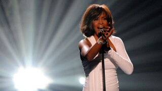 Whitney Houston -- 2009 American Music Awards