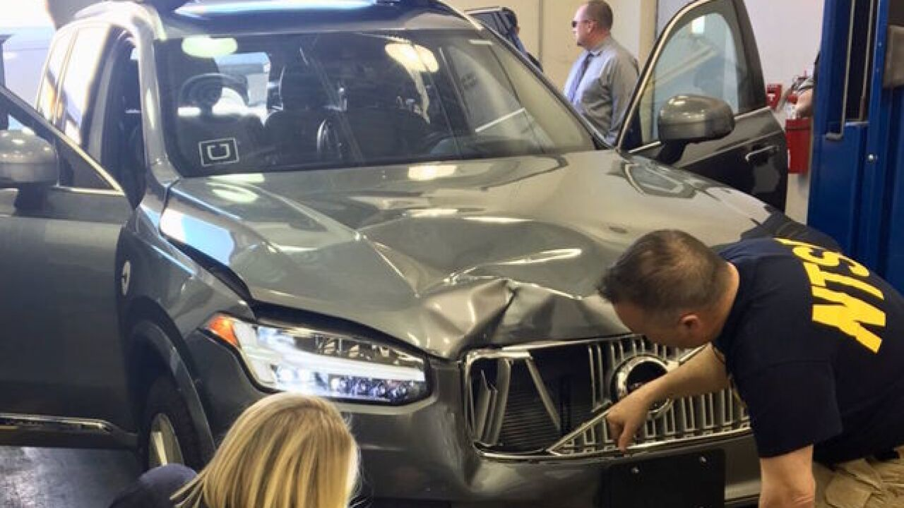 Gov. Ducey suspends Uber from autonomous testing