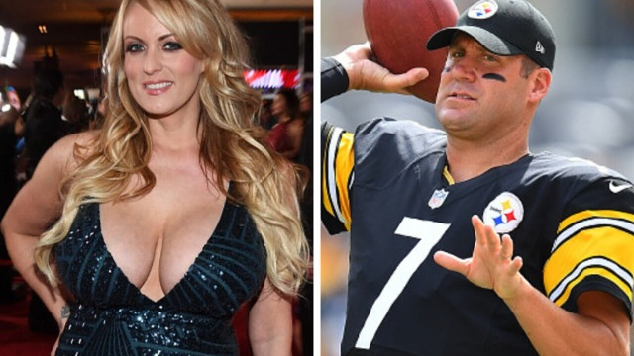 Stormy Daniels says she was 'terrified' of Steelers QB Ben Roethlisberger