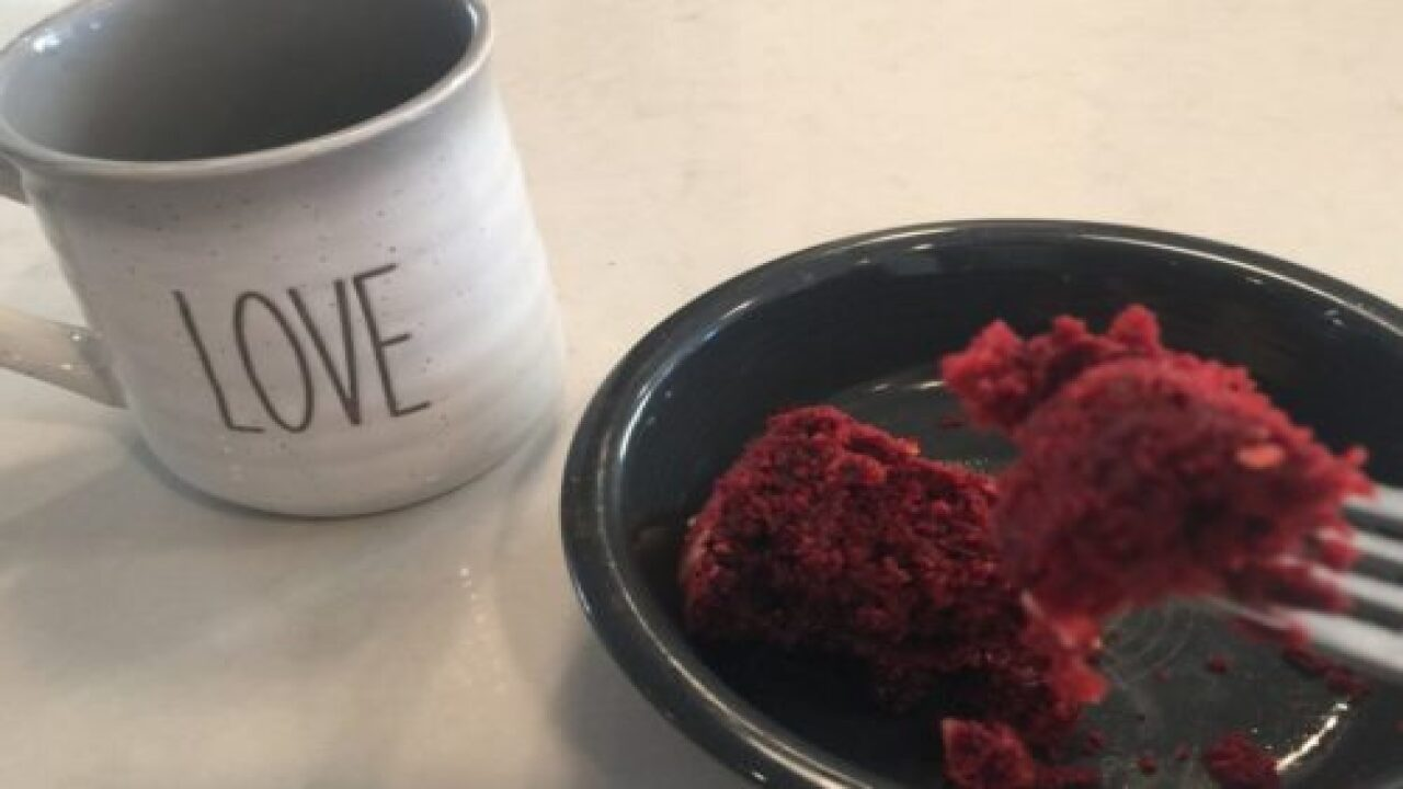 This Is The Red Velvet Quick Bread Recipe You'll Want To Make For Valentine's Day