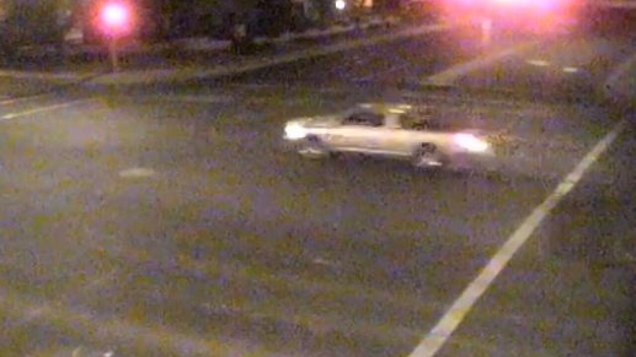Possible suspect vehicle in hit-and-run