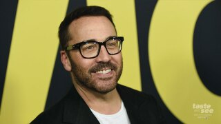 """Jeremy Piven arrives at the world premiere of """"Vice"""" on Tuesday, Dec. 11, 2018, at the Samuel Goldwyn Theater in Beverly Hills, Calif. (Photo by Chris Pizzello/Invision/AP)"""