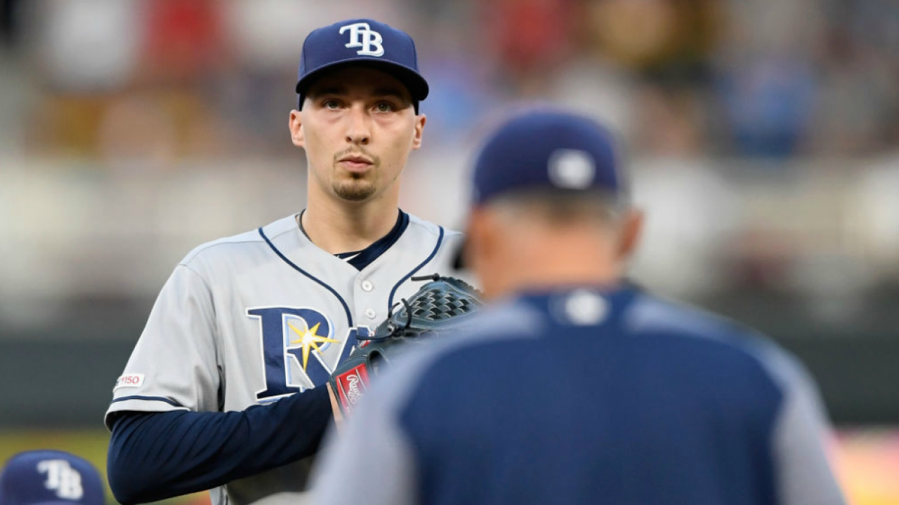 Blake Snell struggles June 25 2019