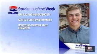Students of the Week: Jace Rhodes and Kinzee Koch of Billings West High School