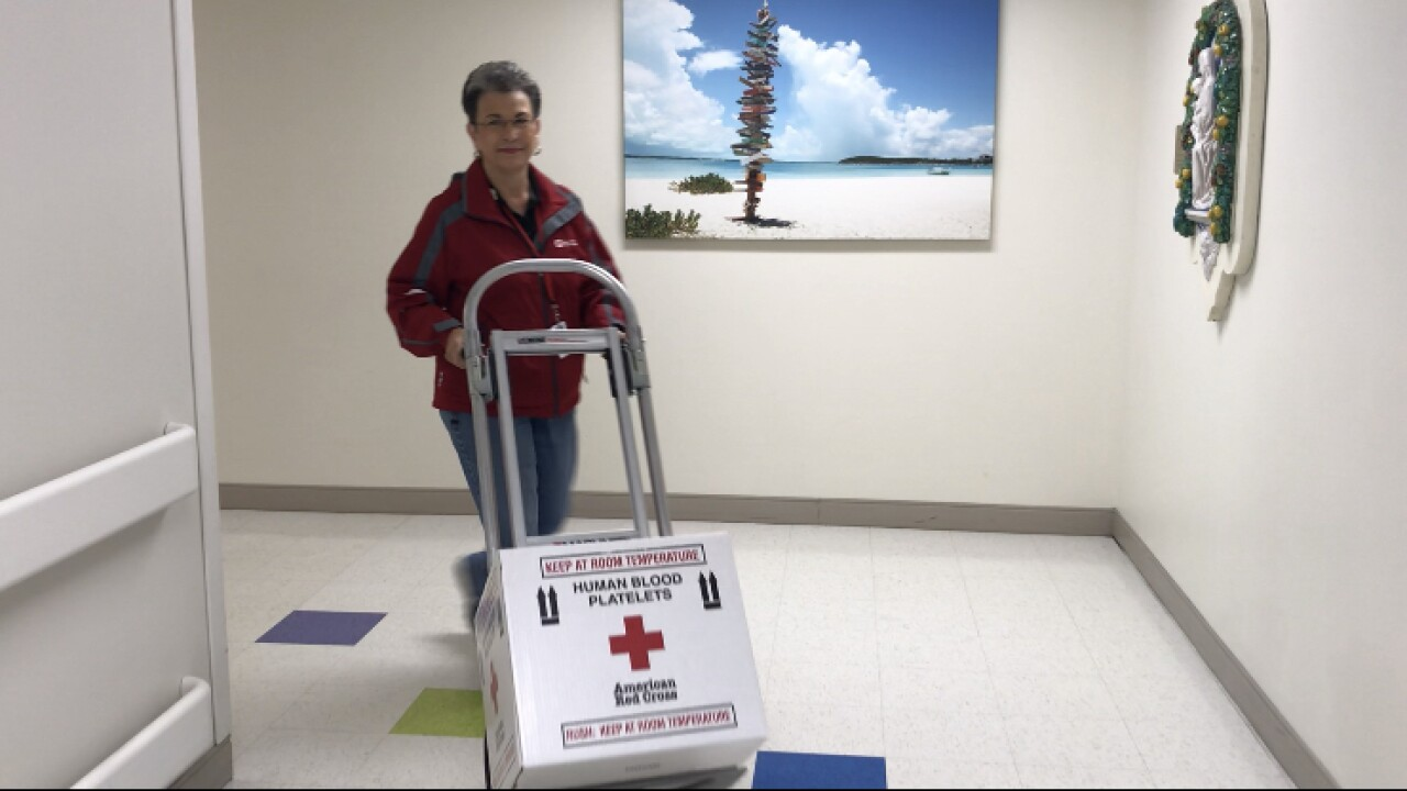 Red Cross in need of volunteer drivers
