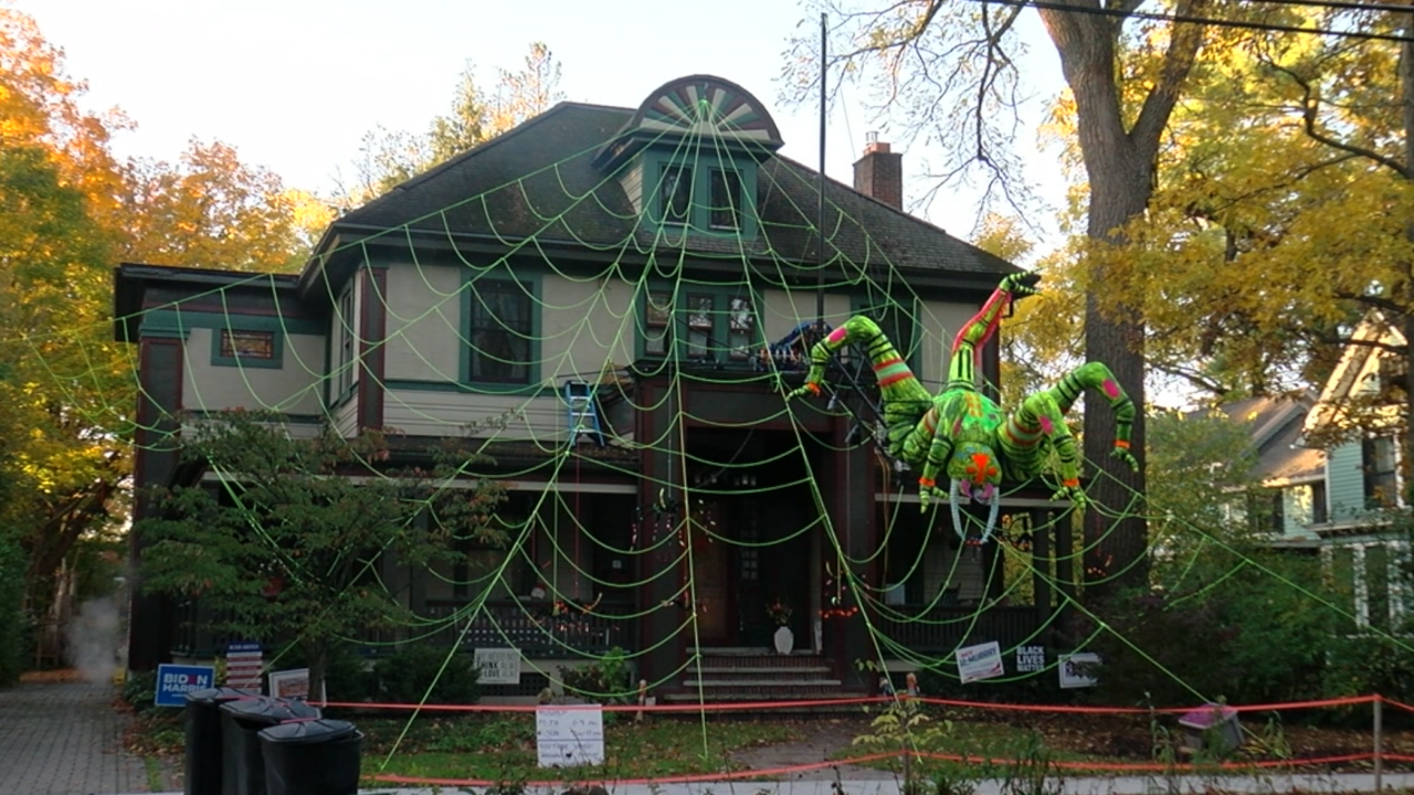 East Aurora Halloween Home