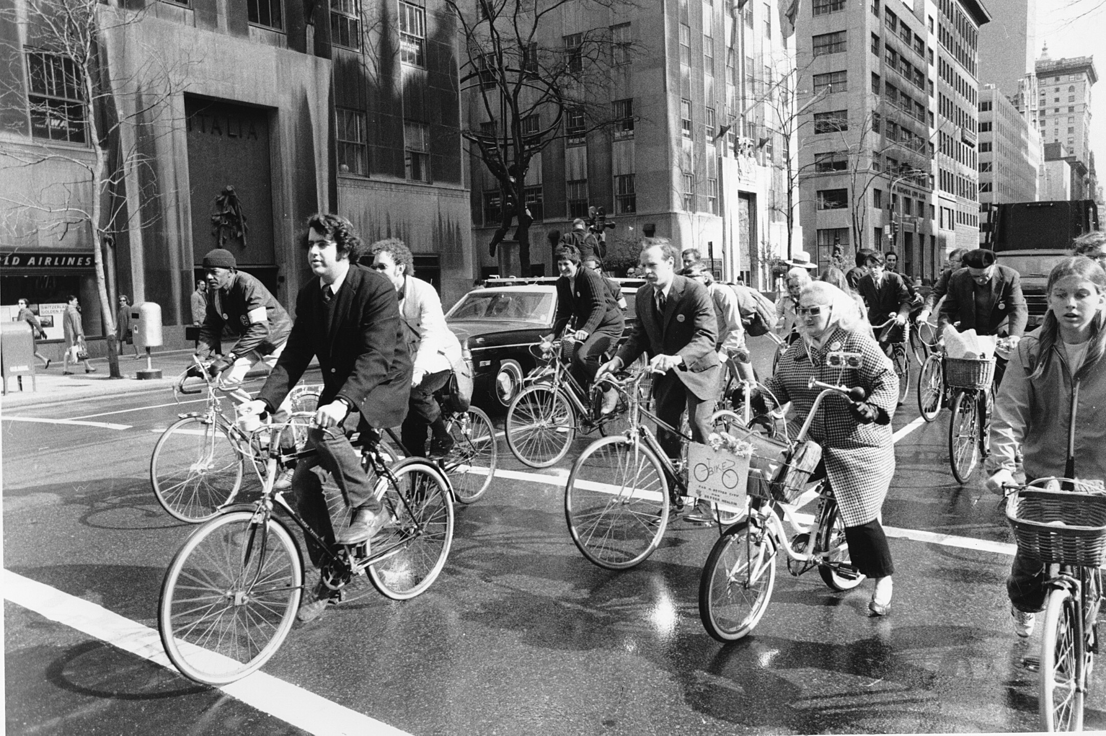 EARTH DAY BICYCLISTS