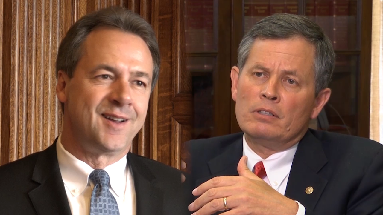 Bullock, Daines prepare for epic Senate battle – by aiming for the center