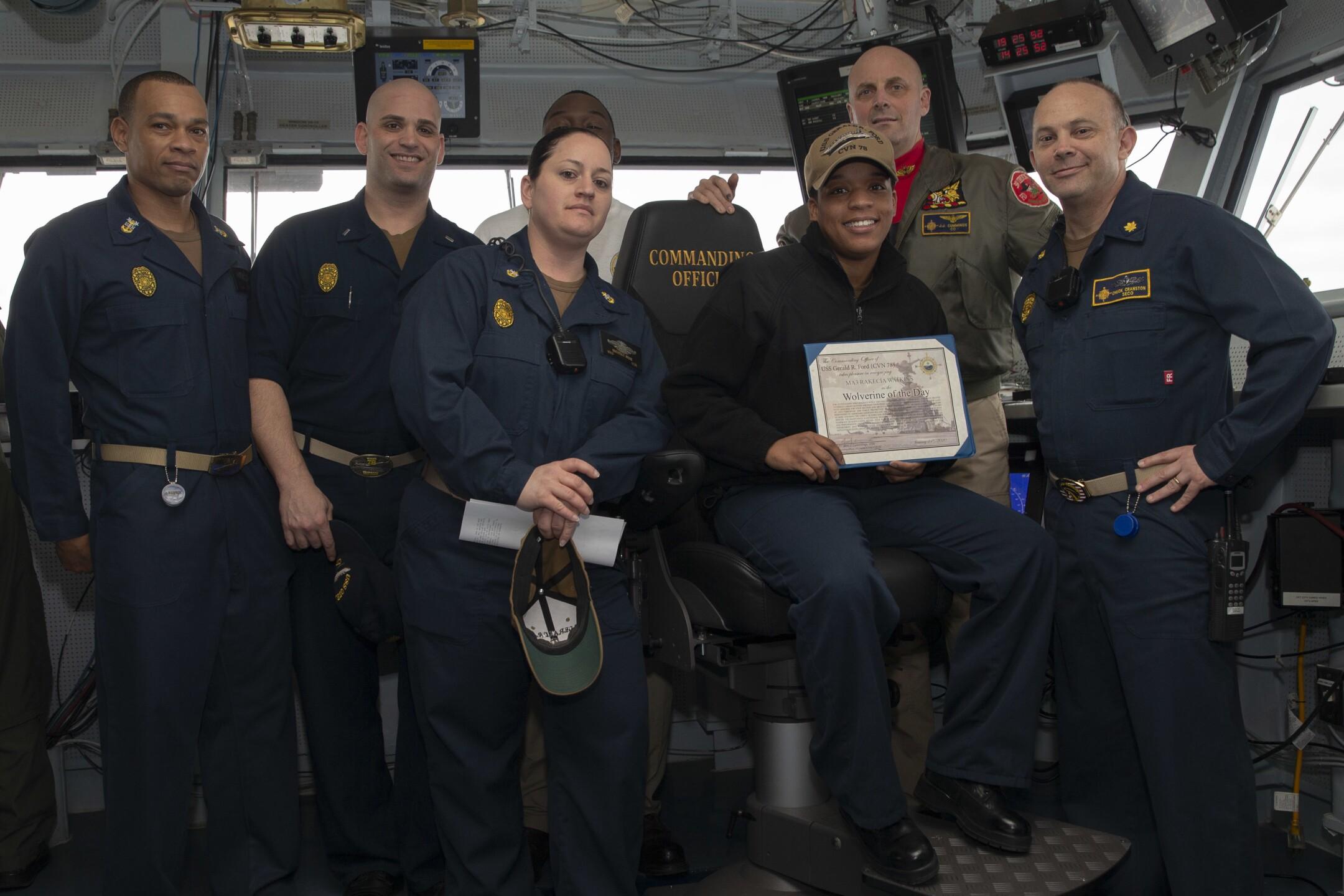 Photos: Flight testing begins at sea on USS Gerald R.Ford