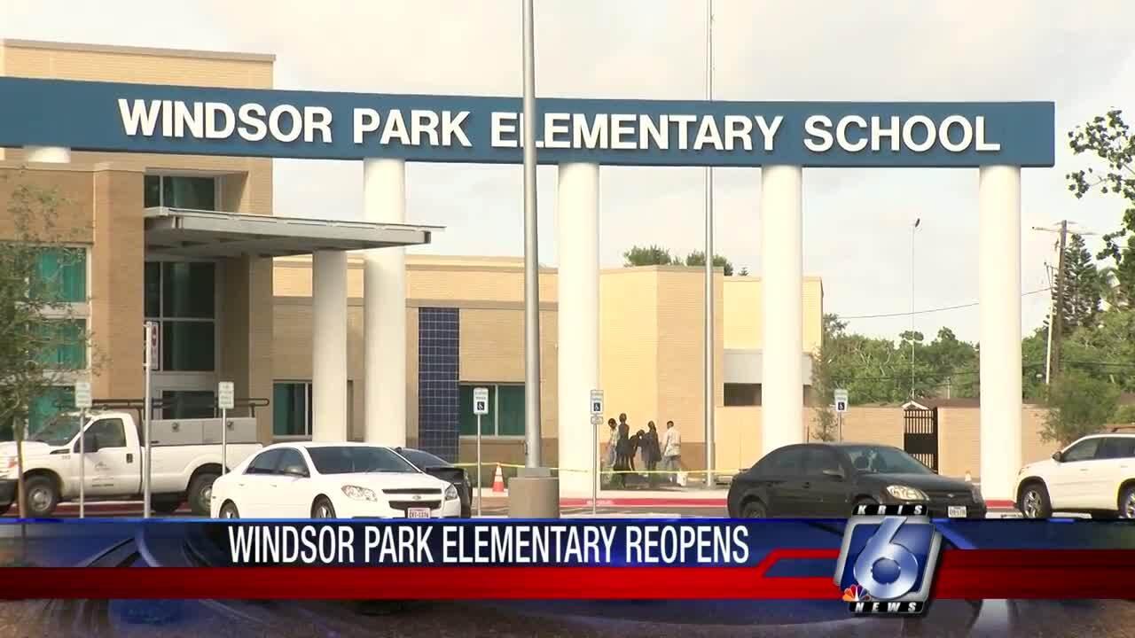 Windsor Park Elementary School reopens