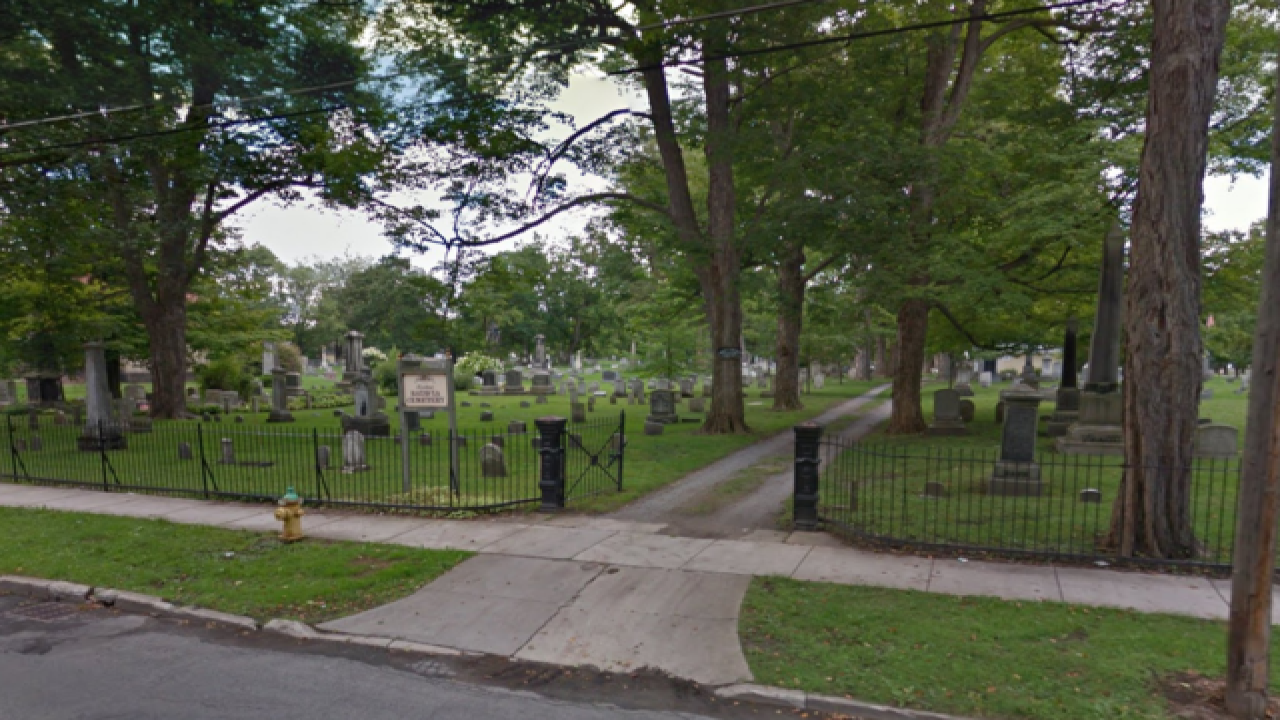 Two found dead in cemetery were hit by lightning