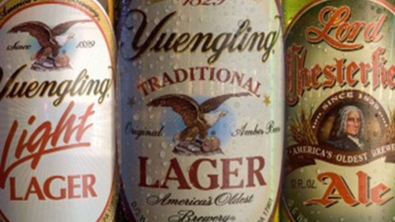 Yuengling passes over Michigan, chooses to sell beer in