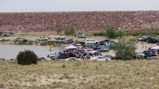 Lake Pueblo State Park reaches capacity during busy weekend.jpg