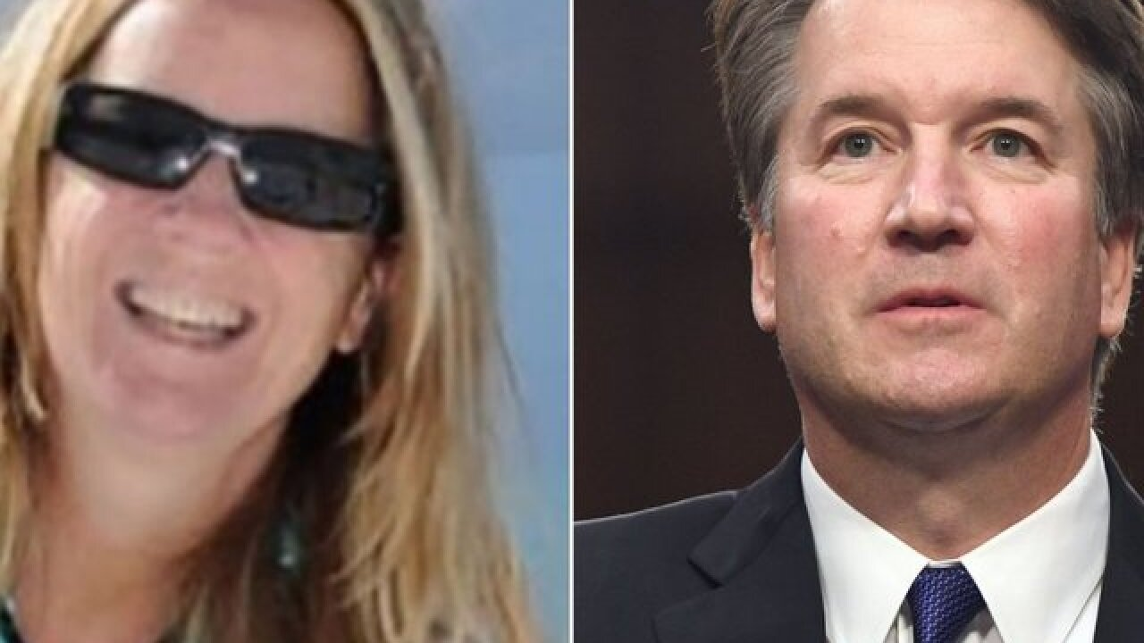 Kavanaugh accuser's lawyers say she is open to testifying, but not Monday