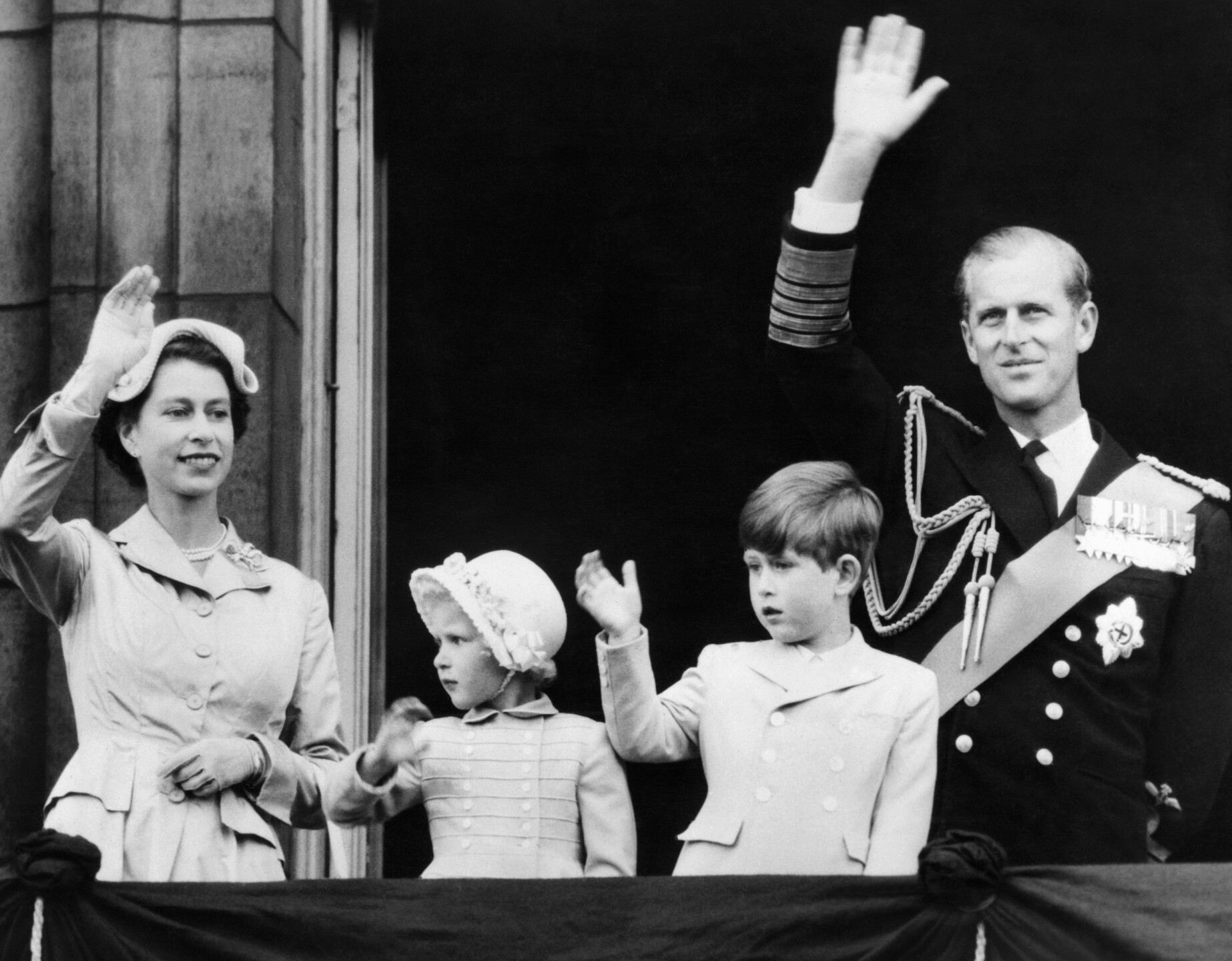 Queen Elizabeth II Prince Philip Children