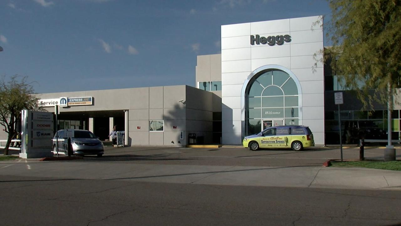 Heggs Chrysler Dodge Ram car dealership in Mesa