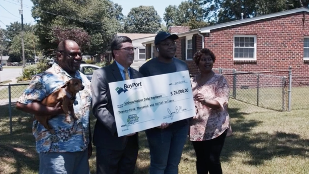 Hampton resident and ODU student winner of $25,000 sweepstakes