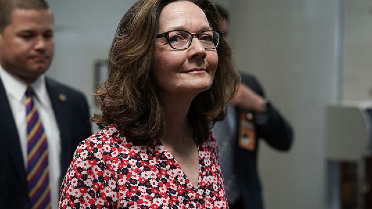 Trump keeps up support for 'tough on terror' Haspel