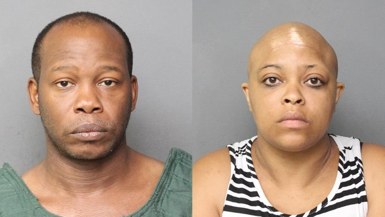Couple arrested for the death of a child in Norfolk