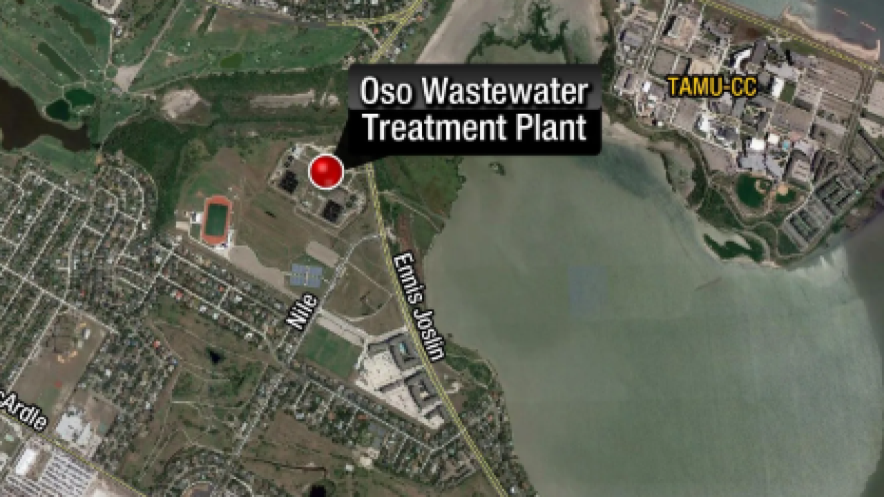 Wastewater discharge found in Oso Bay