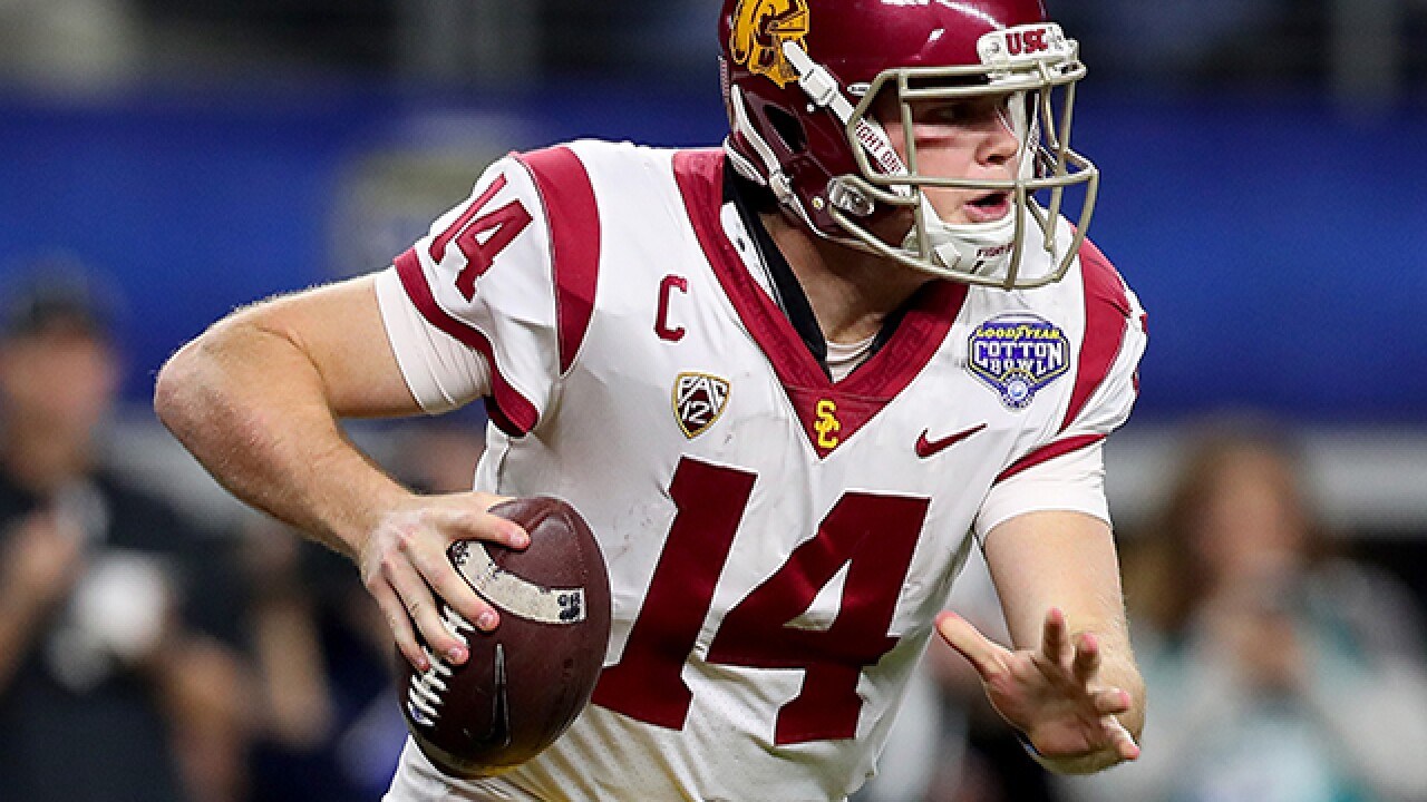 MOCK DRAFT: Browns take USC QB with top pick