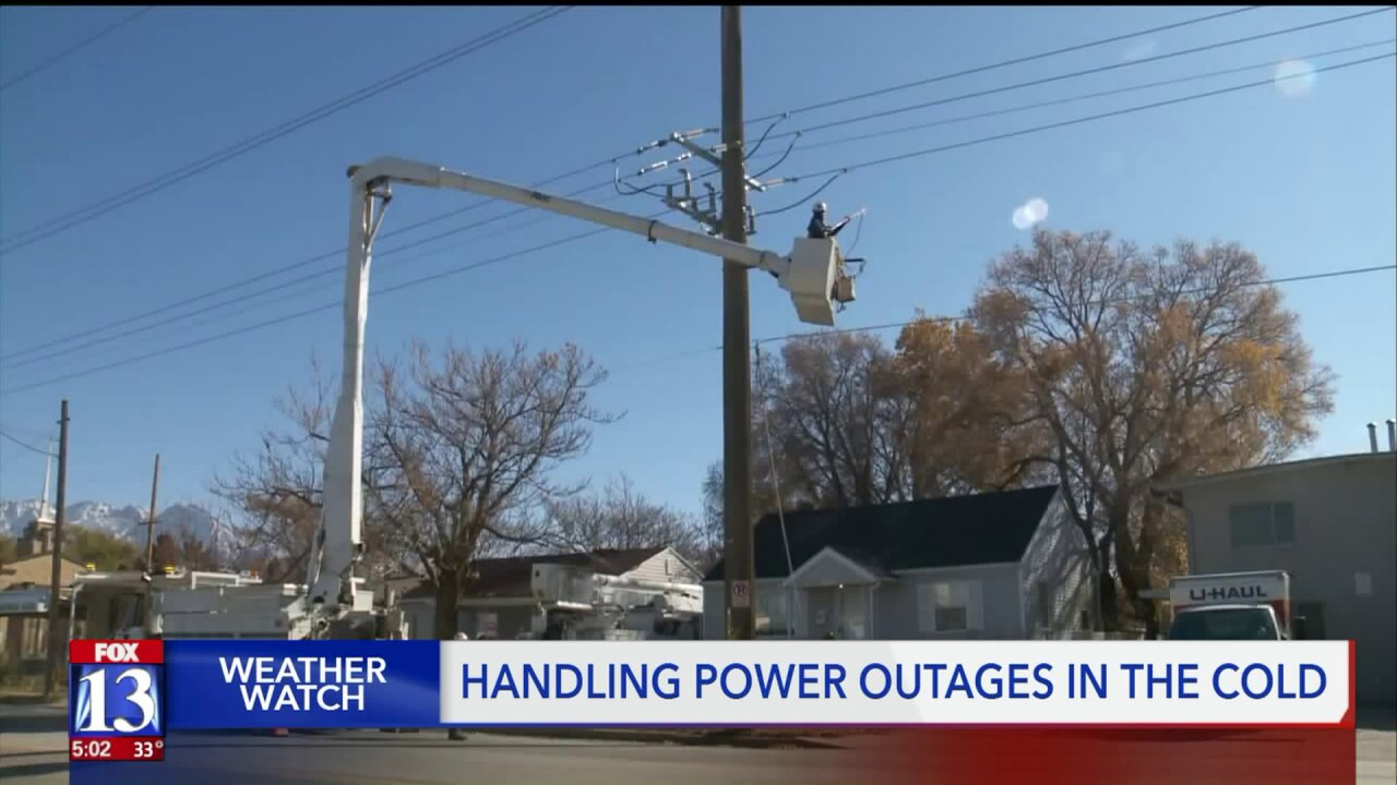Power outage overnight leaves 500+ homes without heat