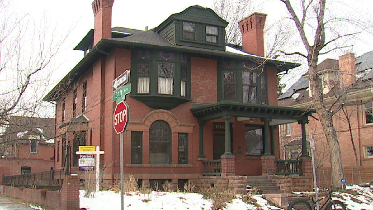 This Historic Denver mansion is for sale and the owner is