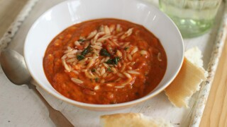 Orzo soup