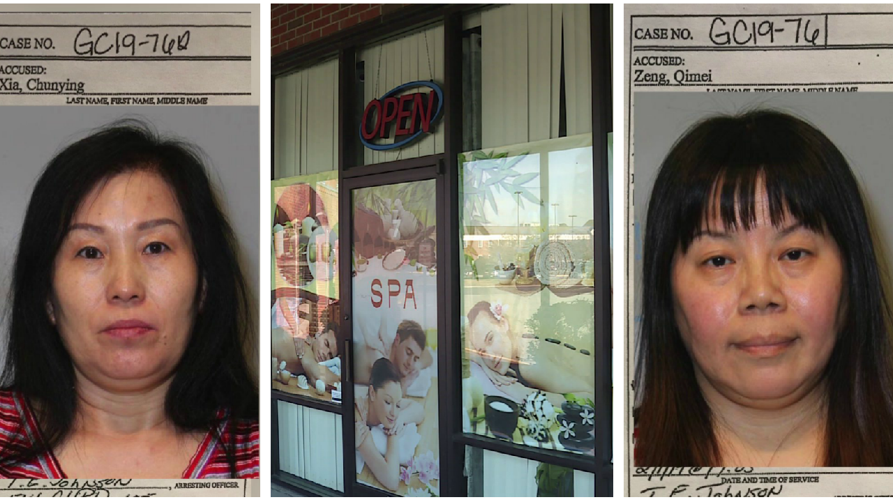 Embezzlement investigation leads to bust at massage parlor for 'impermissible illegalbehavior'