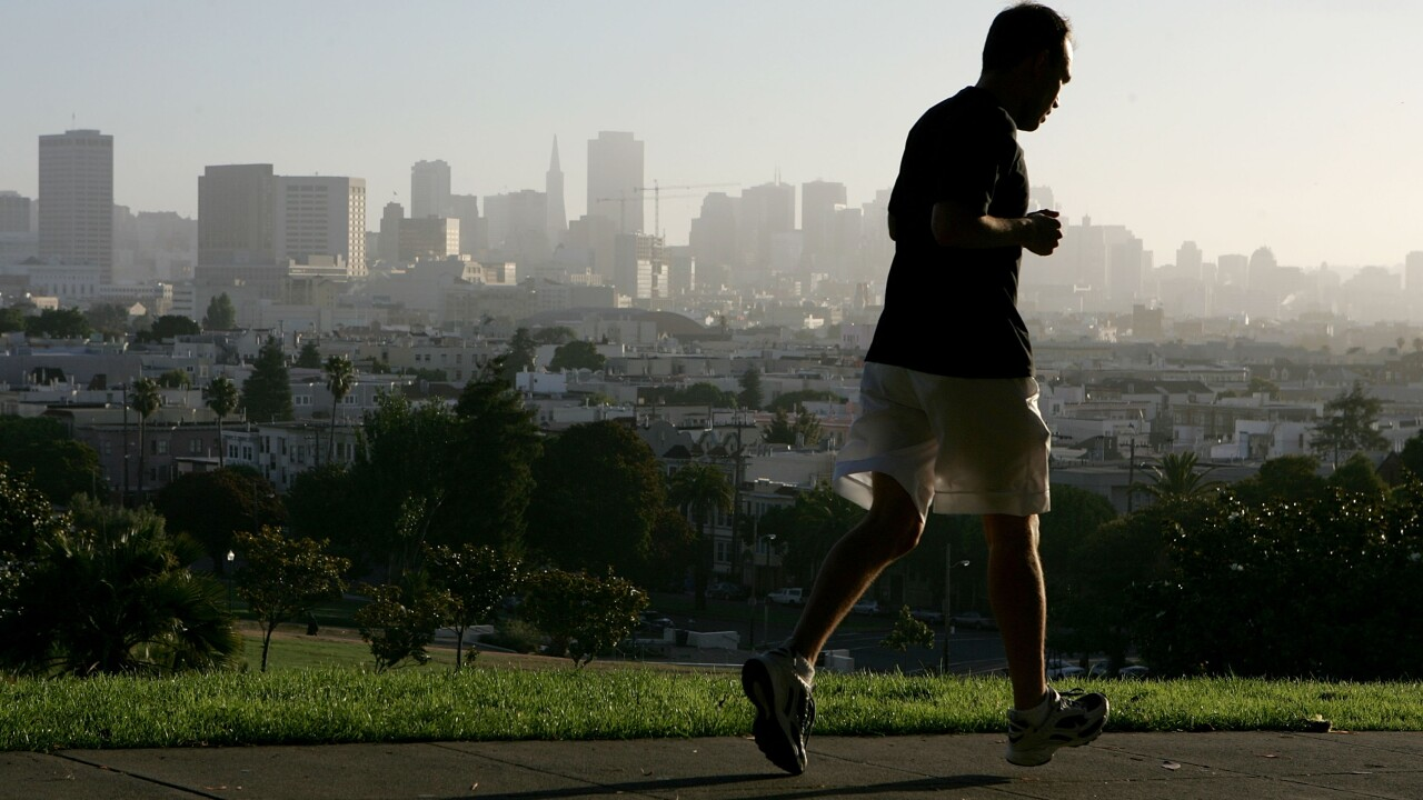 San Francisco Named Best City For Jogging