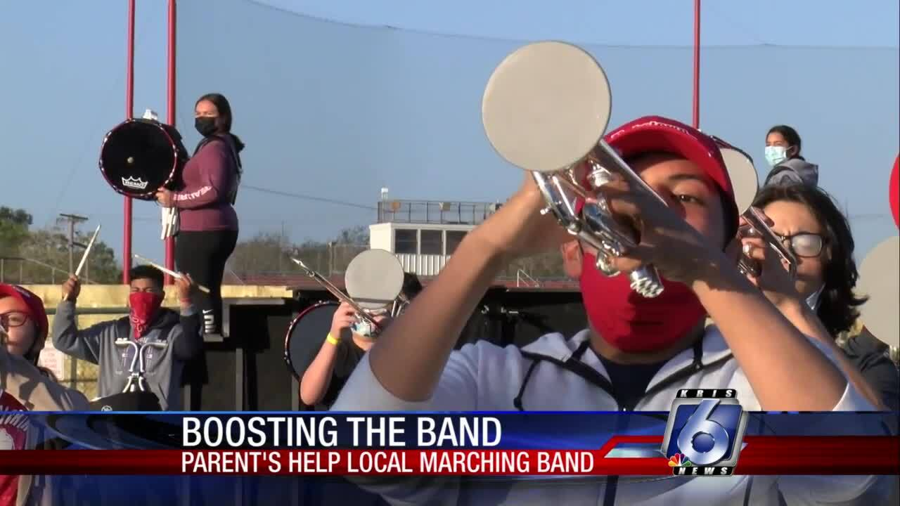The Robstown Band is supported by their boosters