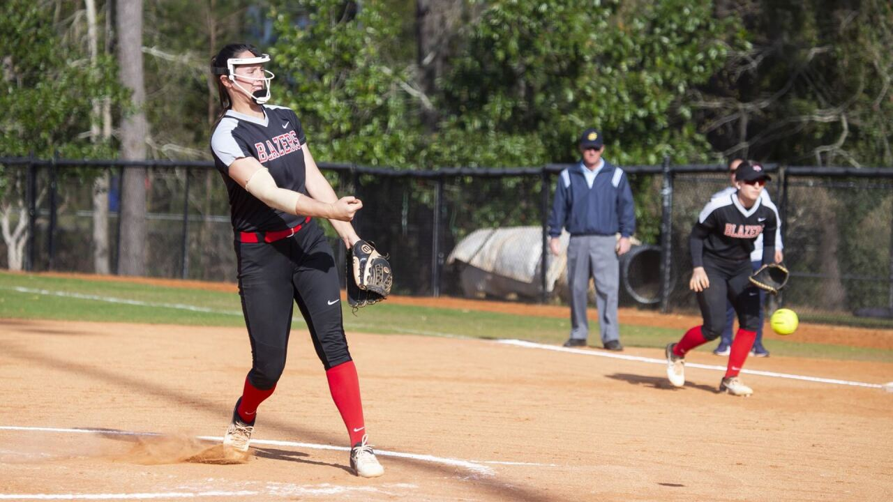 Richards' Perfect Game Highlights Doubleheader Sweep of Flagler