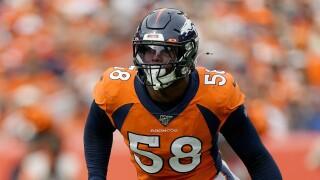 Von Miller says sprained MCL could keep him out vs Texans