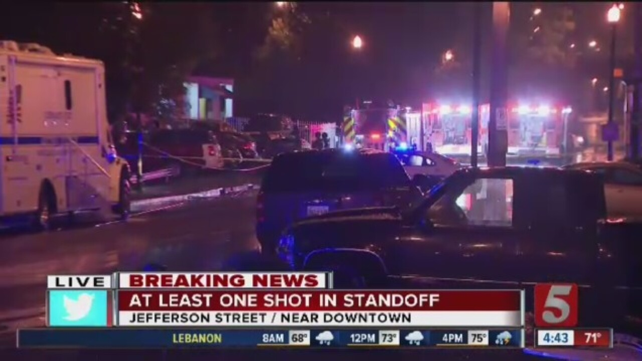 Armed Man Surrenders After Standoff Downtown