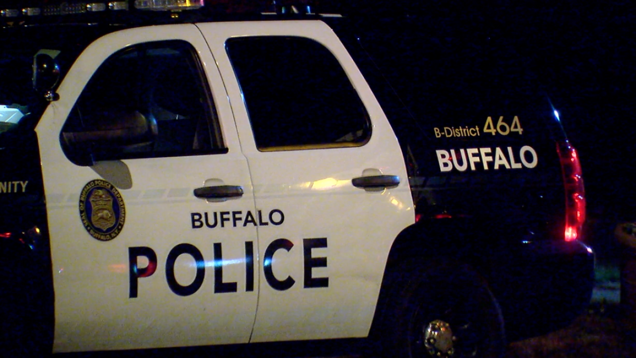 Buffalo Police Car