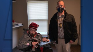 laptop stolen from disabled veteran in akron