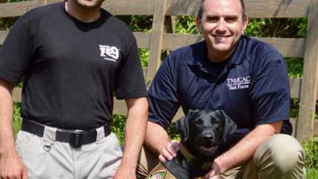 Electronics-Detecting K-9 Joins Williamson County Sheriff's Office
