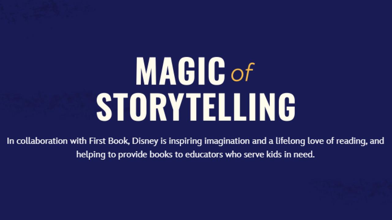 Magic of Storytelling Banner