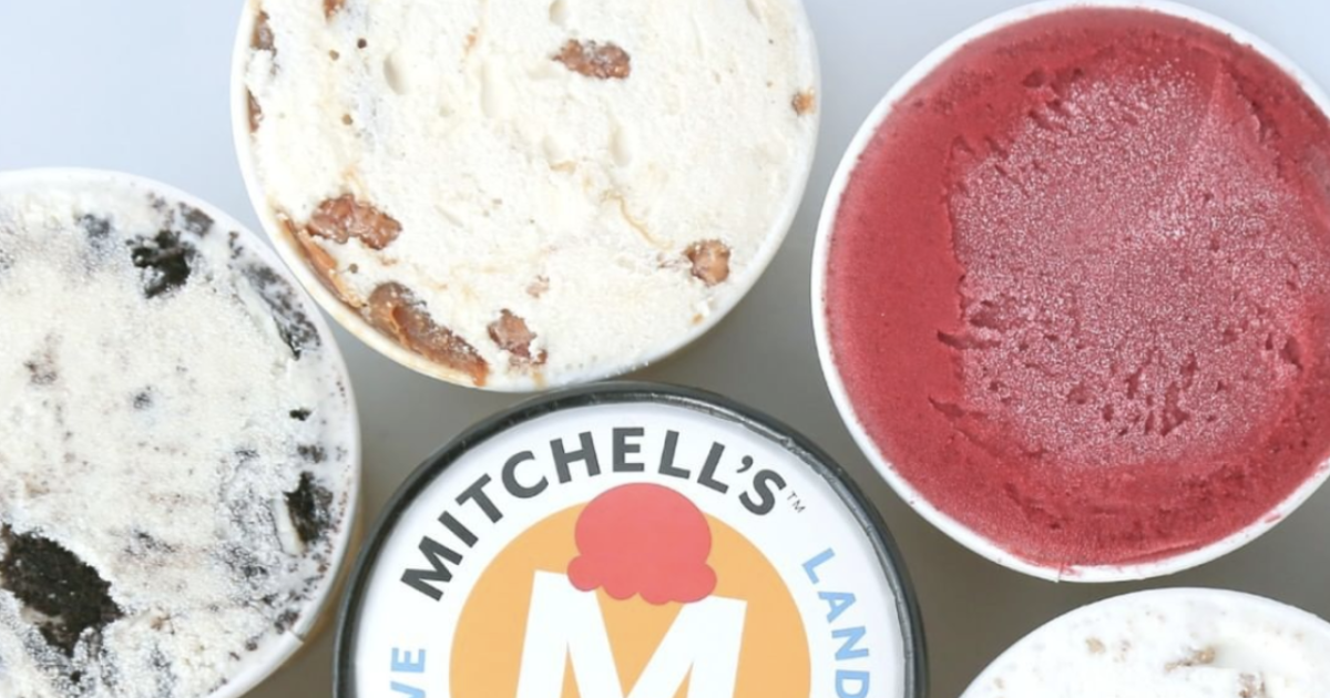 Mitchell's Ice Cream hiring shop and kitchen team members with pay starting at $16 an hour