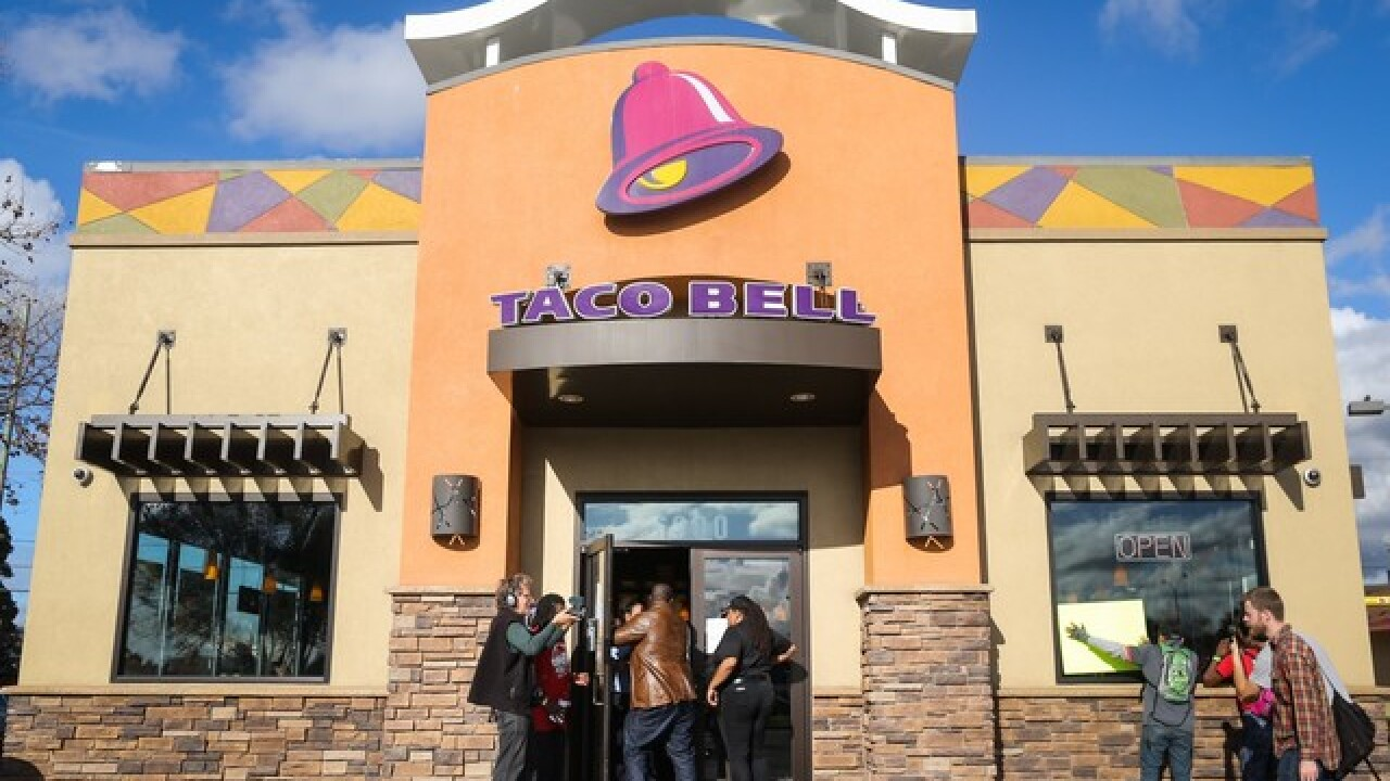 Taco Bell: Get a free Doritos locos taco on Nov. 1