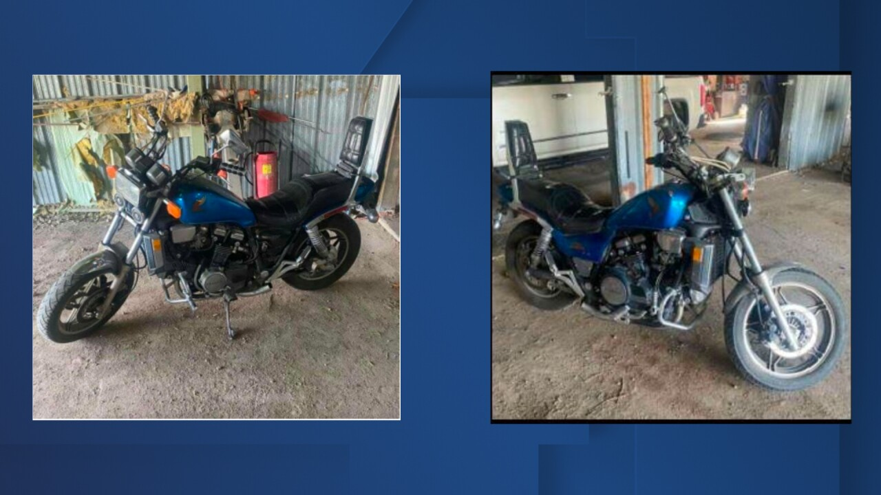 John Freeman Colt motorcycle