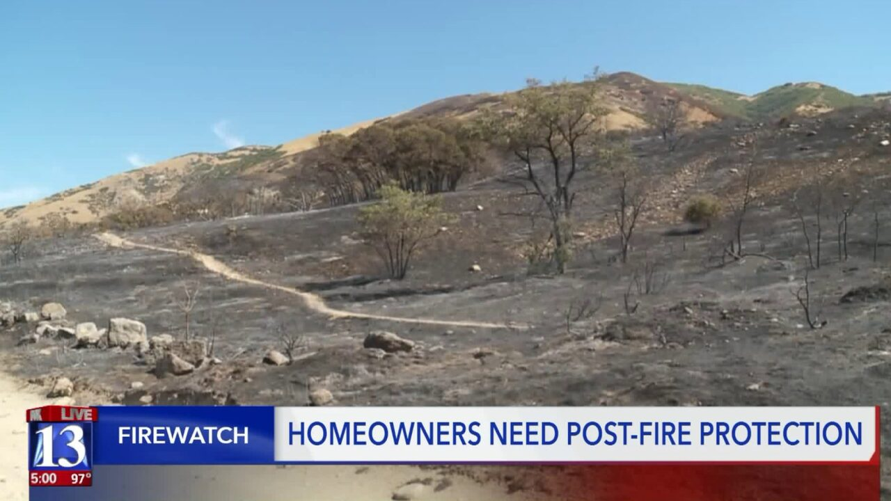 Homeowners near 'Gun Range Fire' scar now may be at risk forflooding