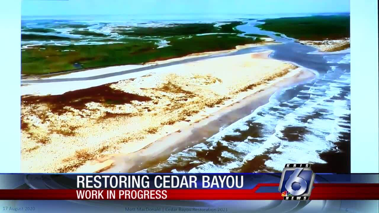 Cedar Bayou restoration project aims to get bays 'fresh and clear'