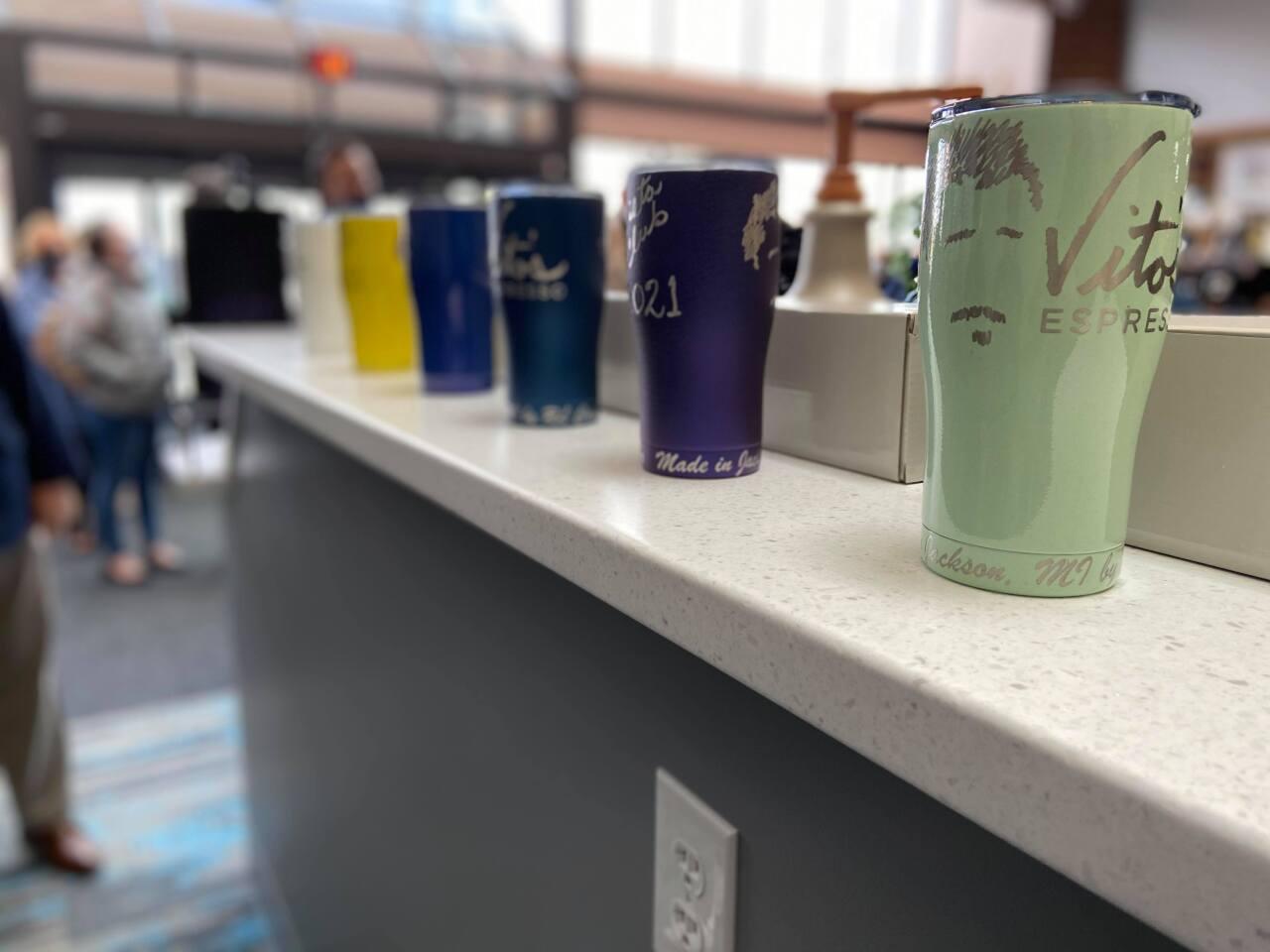 Vito's Espresso  mugs