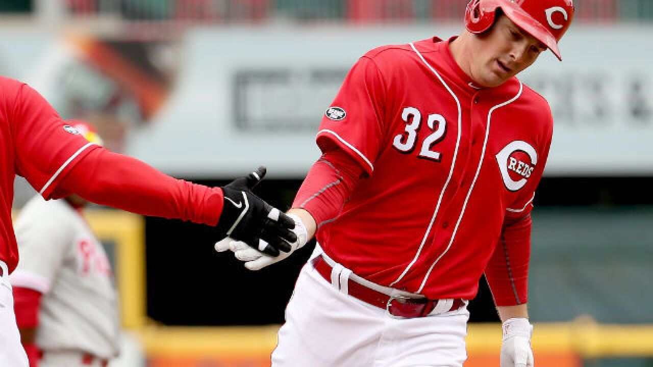 Trade Jay Bruce? Not after what he did Thursday