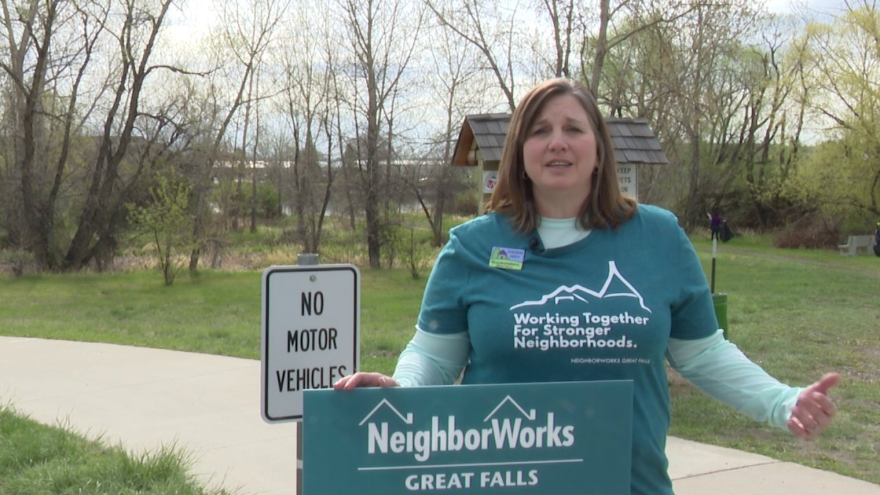 NeighborWorks Great Falls director Sherrie Arey