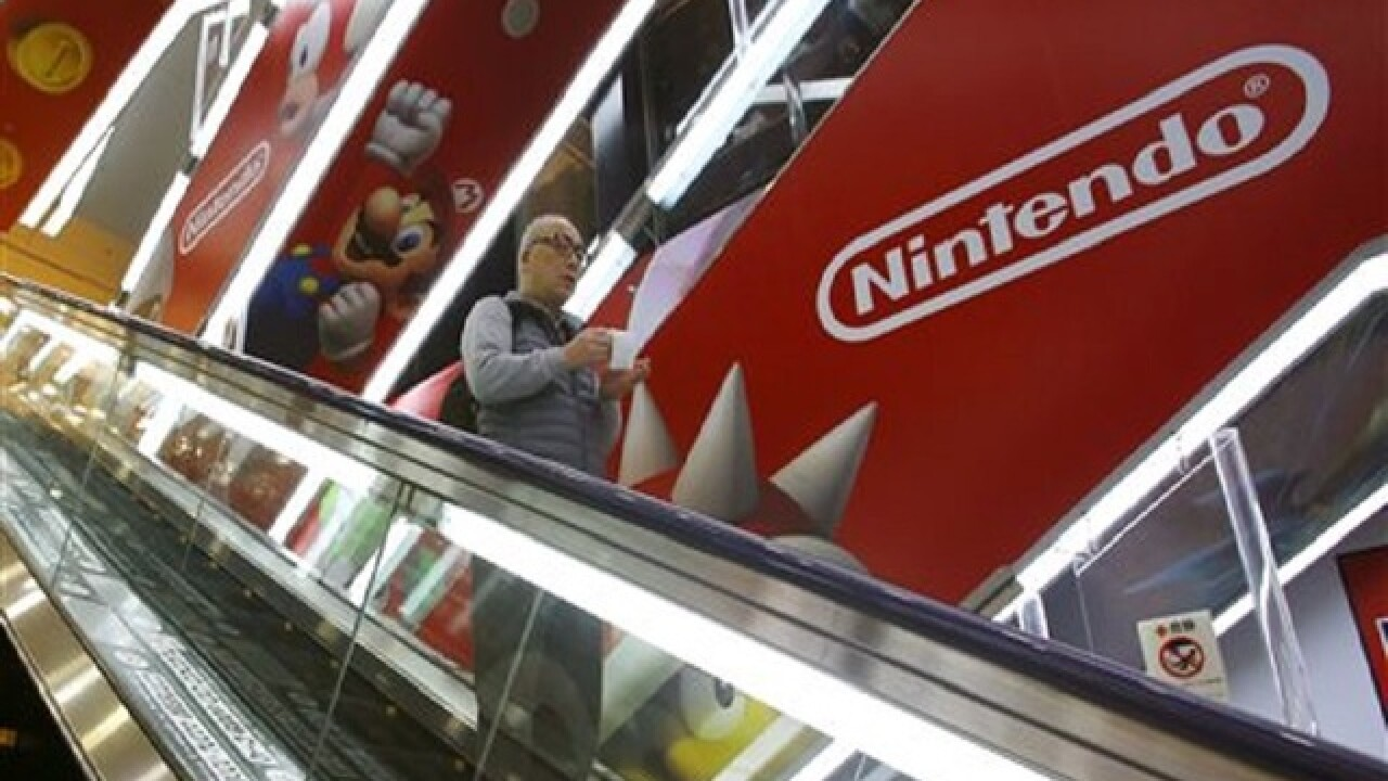 Nintendo eyeing filmmaking for growth