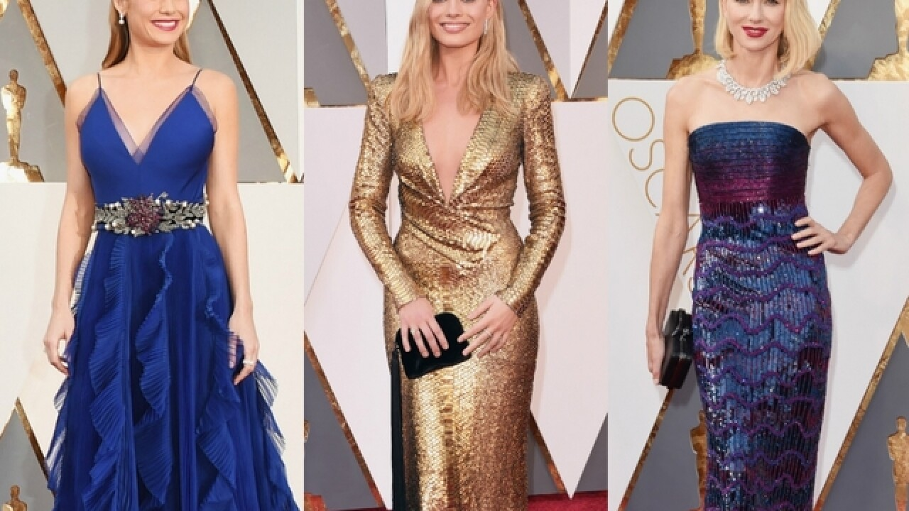 Oscars fashion: Red-carpet stars went soft